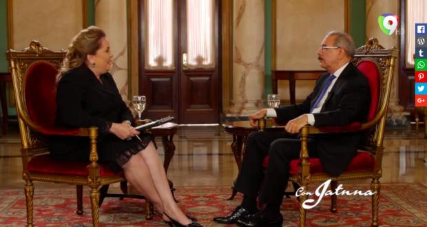 Danilo Medina: Pueden decir lo que quieran, yo manejo el estado con pulcritud
