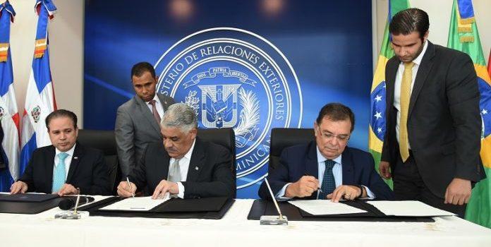 República Dominicana y Brasil acuerdan fortalecer comercio e inversión bilateral