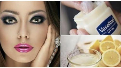 Asi Se Usa La Vaselina Con Limón Para Convertir Tu Cara Como La De Una Muñeca De Porcelana En Días