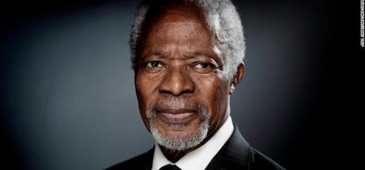 Muere el ex secretario general de la ONU Kofi Annan a los 80 años