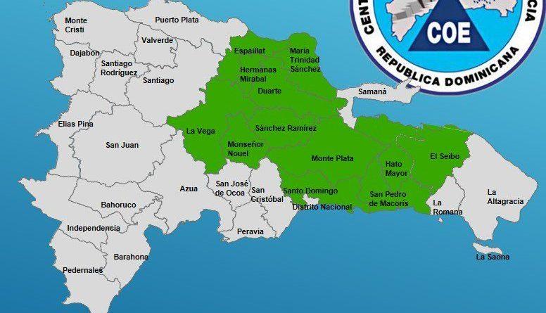 Photo of Alertan 12 provincias en alerta verde por vaguada y onda tropical