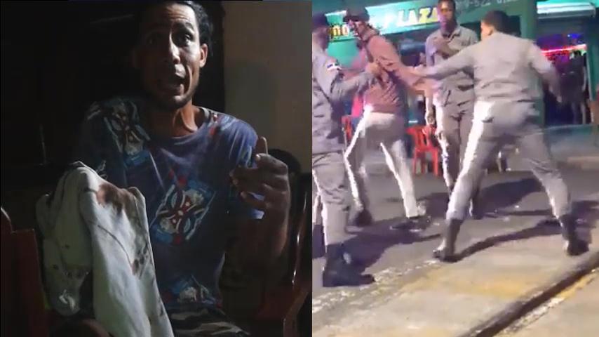 Photo of Habla el joven que recibió la golpes por parte de la Policía y esto fue lo que reveló.