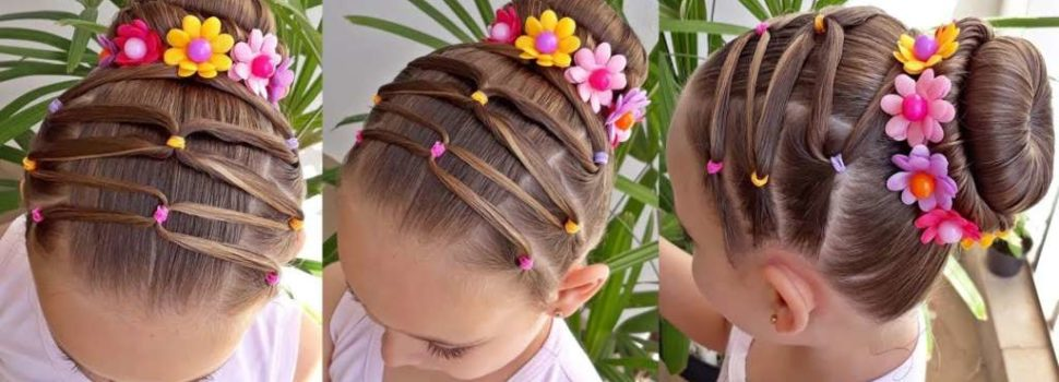Preciosos Peinados Para Ninas Ideales Para Fiestas Y Ocasiones