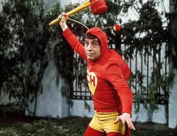 """Piconfesiones en 1987!. La lección de vida de Chespirito que se viralizó en las redes: """"Batman y Superman no son héroes, el heroísmo es otra cosa"""".Ver video"""