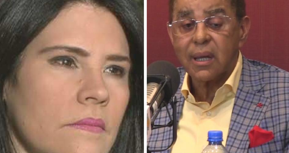 """Karim Abu Naba: """"Alicia Ortega negocio con Diandino Peña para callar la denuncia de sus bienes ilicitos"""""""