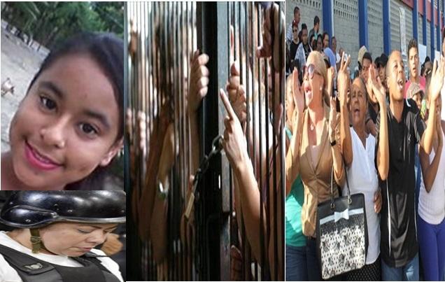 Photo of Familiares de Emely Peguero Visitan Carcel de Rafey Mujeres Para Asegurarse que Marlin Martinez Esa Presa Alli Pero los Guardias y La Directora No Los Dejaron Pasar.