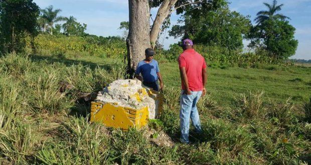 Haitianos destruyen pirámides que marcan límites fronterizos en Dajabón