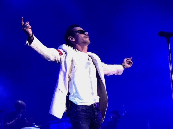 Photo of Marc Anthony sí sabe encantar. Un artista con licencia para actuar, cantar, bailar, dramatizar .