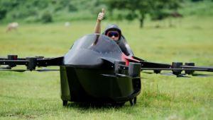 Carro volador probado con éxito
