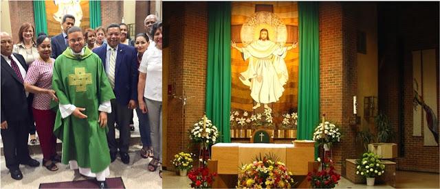 Organizaciones dominicanas ofrecen misa a patriotas fallecidos y que residen en el exterior