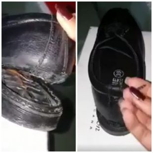 Photo of Alerta!! Zapatos que da el gobierno a estudiates son peligrosos y se rompen facil