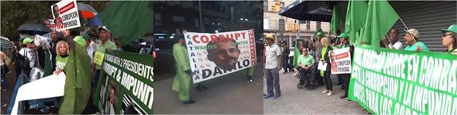 Protestas en la ONU, Alto Manhattan y piquetes en hotel persiguieron a Danilo en Nueva York