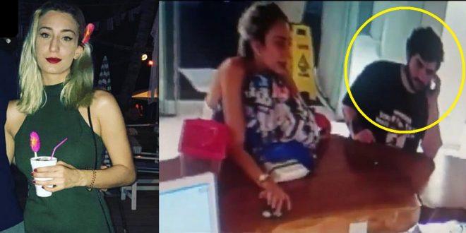 El video donde la joven rumana fue vista con vida por última vez antes de caer al vacío en Santo Domingo.