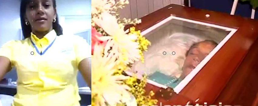 Con llanto y dolor velan los restos de la joven embarazada ultimada de un disparo por delincuentes