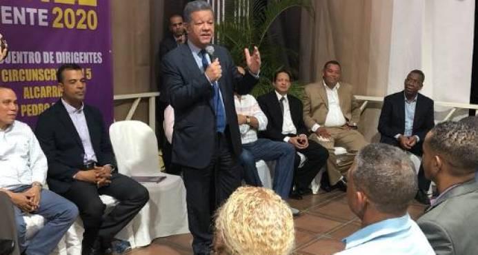 Leonel Fernandez: Cuando sea presidente nuevamente mi reto es mejorar la seguridad ciudadana