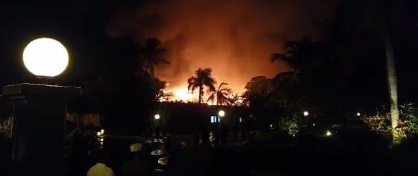 Photo of Reportan fuerte incendio en el Hotel Meliá en Bávaro. Tenemos las imagenes.