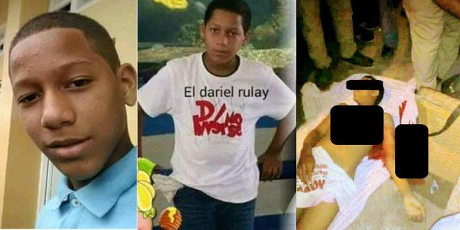 Atracadores le quitan la vida de tres puñaladas a niño de 12 años para robarle un celular.