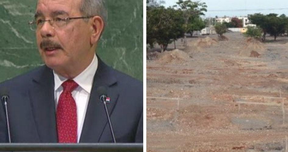 Danilo dijo en la ONU estar preocupado por el cambio climático pero permite que construyan una terminal de autobuses en parque mirador del este