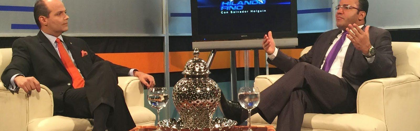 """Salvador Holguin: """"El unico error de Ramfis Trujillo es este que le puede costar la presidencia"""""""