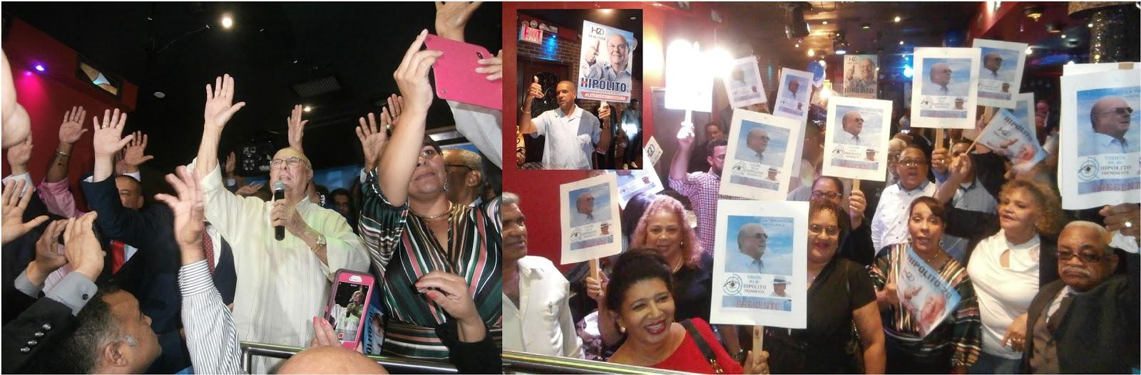 Photo of Hipólito afirma prefiere a Leonel como su adversario en elecciones de 2020 y juramenta comando de campaña en Nueva York