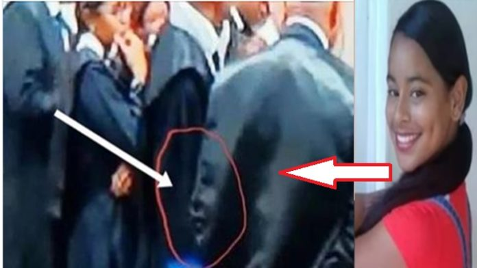 Photo of Esta Circulando en las redes VIDEO en donde se aparece el rostro de la joven Emely Peguero en vestimenta de abogados durante juicio.