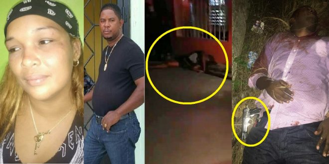 Hombre le propina varios disparos a su expareja y luego se dispara.