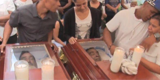 Velan restos de dos hermanos murieron tras consumir comida envenenada