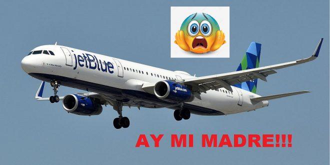 Lo que sucedió anoche con un vuelo repleto de dominicanos que venía para República Dominicana.