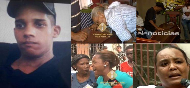 Policía le quita la vida a un joven de 21 años de un disparo por la espalda.