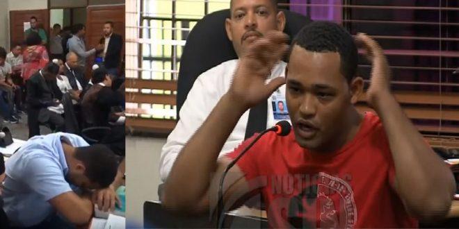 """Caso Emely: Marlon arrastró un saco con """"algo grueso"""" y lo entró en un carro, dice empleado de edificio"""