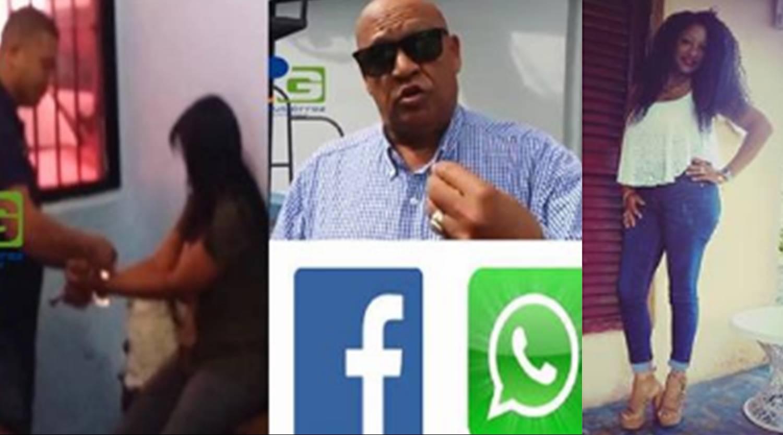 Photo of La Acusan De Estafar Con Miles De Pesos A Este Comunicador Deportivo Usando El Whatsapp.