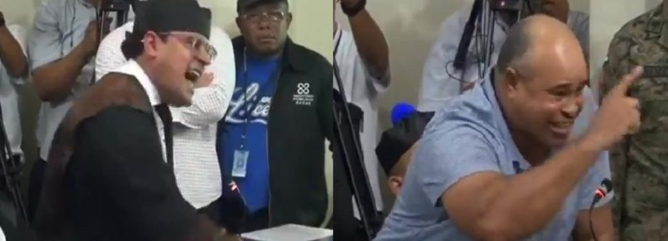 VIDEO del momento en que Hoepelman y Genaro ponen a temblar la sala expresando con rabia su indignación por este crimen.