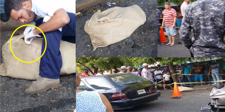 Photo of Encuentran mujer dentro de un saco