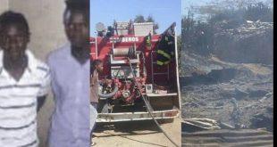 Photo of Dos haitianos ilegales incendian 6 casas en Montecristi, hay niños con quemaduras graves