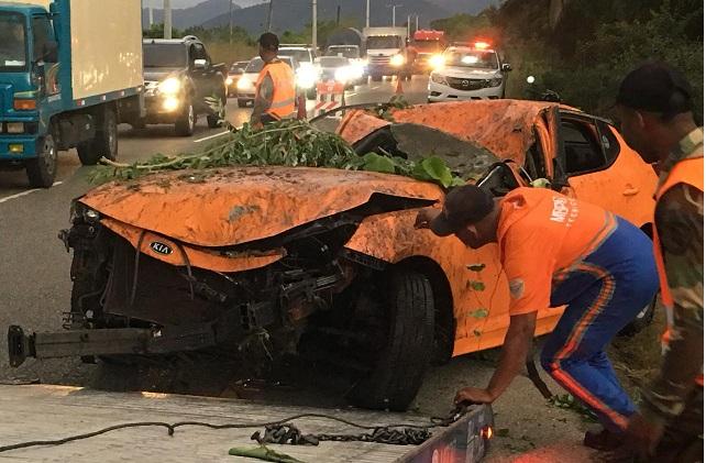 Photo of VILLA ALTAGRACIA: Muere hoy un capitán de la PN en accidente de tránsito