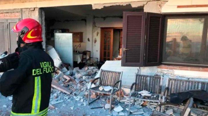 Photo of Terremoto sacude Sicilia causando heridos y derrumbes