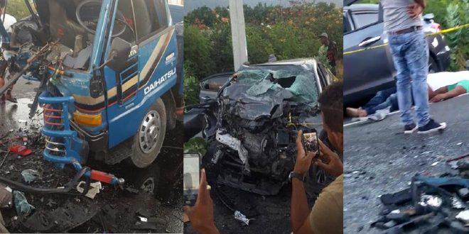 Photo of Terrible accidente con saldo lamentable.