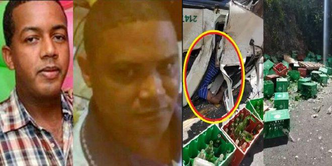 Photo of Camión de la Cervecería Nacional Dominicana sufre aparatoso accidente con saldo lamentable.