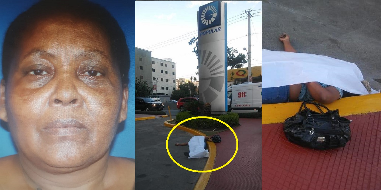 Photo of Mujer falleció en el parqueo del Banco Popular en la capital.