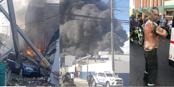 Photo of Sube a dos el número de fallecidos por explosión en Santo Domingo.