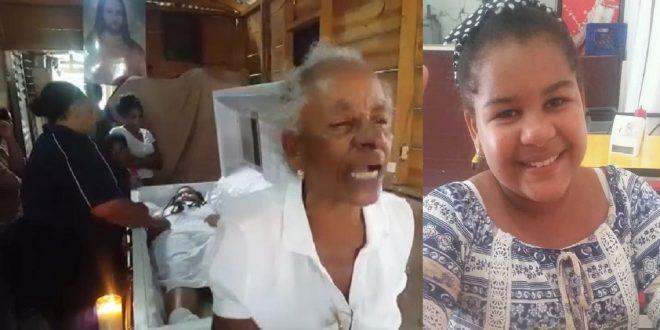 Photo of En el velorio de la niña de 11 muerta en medio de un atraco, abuela hace contundentes declaraciones.