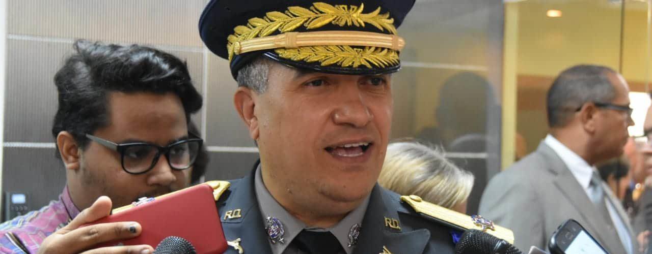 Director PN: Refuerzo patrullaje redujo delitos en áreas comerciales de la RD