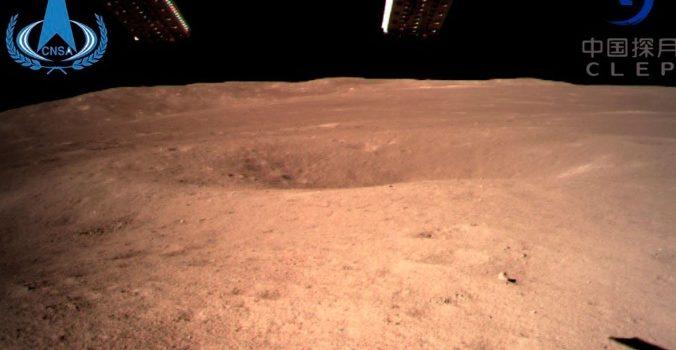 China logra alunizar en la cara oculta de la luna, por primera vez en la historia