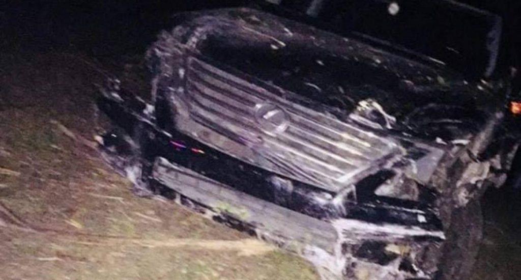 """Photo of """"El Torito"""" sufre accidente; atropella a 2 personas en Carretera Licey"""