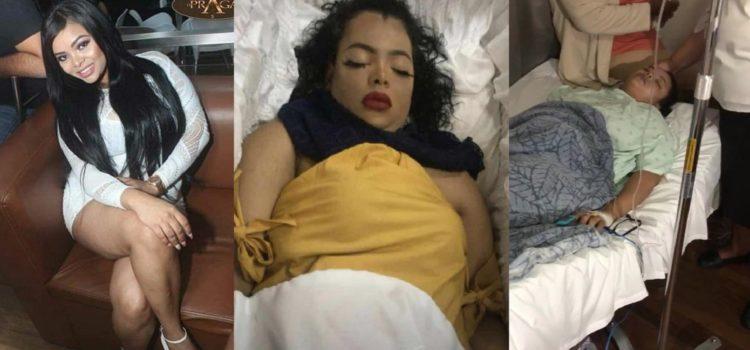 Velan los restos de la joven que perdió luego de practicarse varias cirugías estéticas.