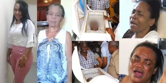 Photo of Con mucho llanto y dolor velan los restos de madre e hija ultimadas por expareja de esta.