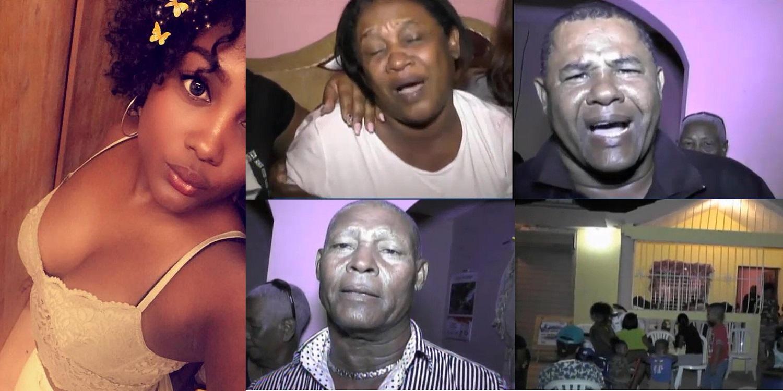 Photo of Familiares en el país lloran el asesinato de la dominicana en España. Exigen justicia.