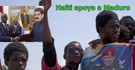 """Photo of Haiti se lanza a calles a defender a Nicolas Maduro, """"EEUU esta detras de todo mal que tiene Venezuela"""". Aseguran"""