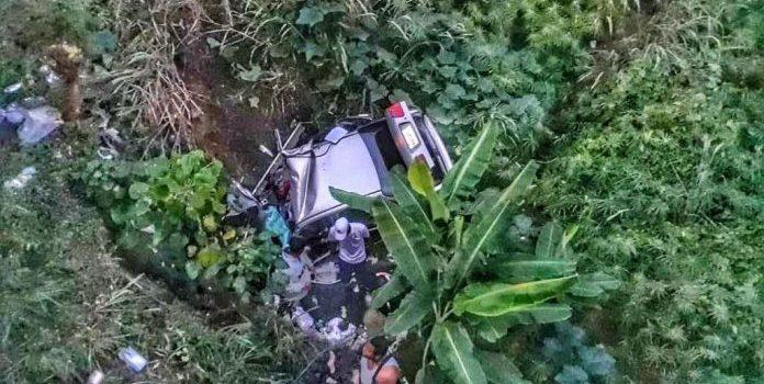 Photo of Muere joven estudiante de medicina tras caer vehículo desde puente en La Vega
