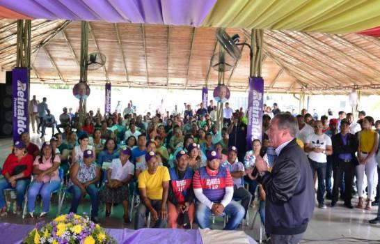 Photo of Reinaldo Pared Pérez promete enfocarse en el crecimiento humano si llegara a la presidencia